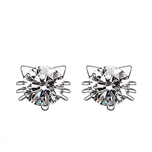 acxico-925-sterling-silver-diamond-crystal-inlaid-kitty-cat-stud-earrings-white