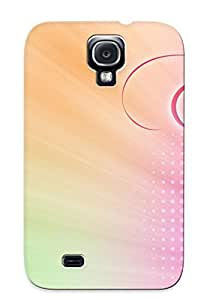 lintao diy Awesome Case Cover/galaxy S4 Defender Case Cover(pink Swirls ) Gift For Christmas
