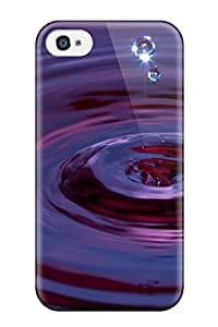 Snap On Hard Case Cover Digital Abstract Drop Protector For Iphone 4/4s 8210475K67513622