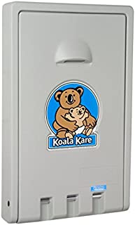 product image for Koala Kare KB101 Vertical Wall Mounted Baby Changing Station, Gray