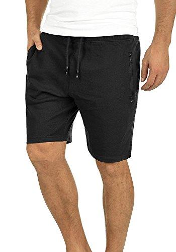 Yidarton Men's Sports Shorts Casual Fit Elastic Jogger Gym Short with Pockets(bk,XL) by Yidarton