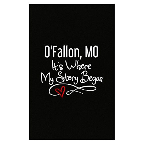 O'fallon Mo Where My Story Began Hometown Home City Birth - Poster -