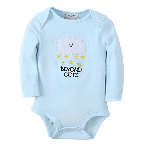 a79518b57d44c Sanlutoz Newborn Toddler Baby Girl Clothes Romper Jumpsuit Bodysuit Outfits  - Buy Online in Oman.