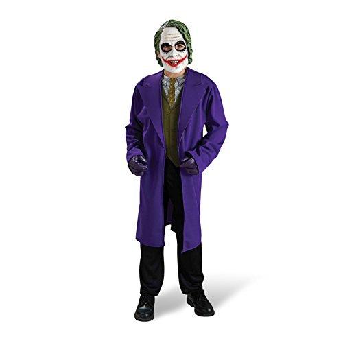 Batman The Dark Knight - Joker Fancy Dress Costume Set - Children - M by Elbenwald (Joker Fancy Dress Costumes)