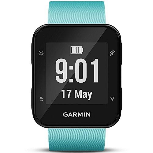 Garmin Forerunner 35 Watch, Frost Blue - International Version - US warranty by Garmin (Image #1)