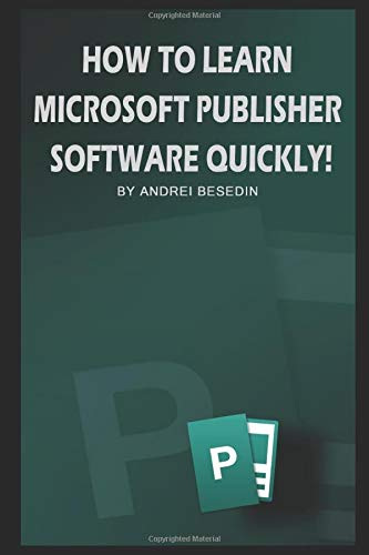 Learn Miscrosoft Publisher Software Quickly product image