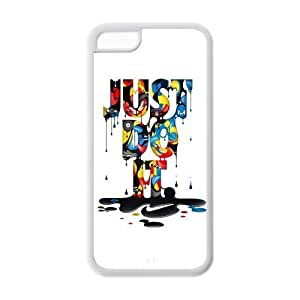 Fashion Just Do It Personalized iPhone 5C Rubber Silicone Case Cover -CCINO hjbrhga1544