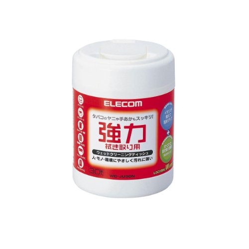 WC-JU30N 30 pieces ELECOM powerful type wet cleaning tissue (japan import)