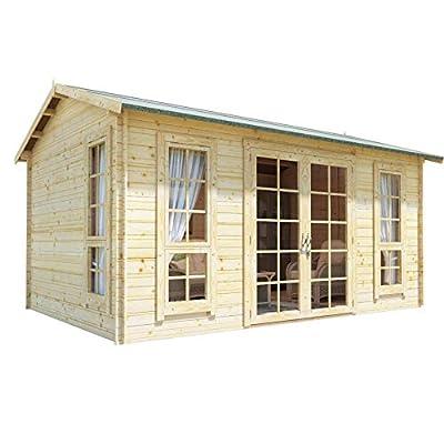 14x10 Garden Shed Cabin Kit