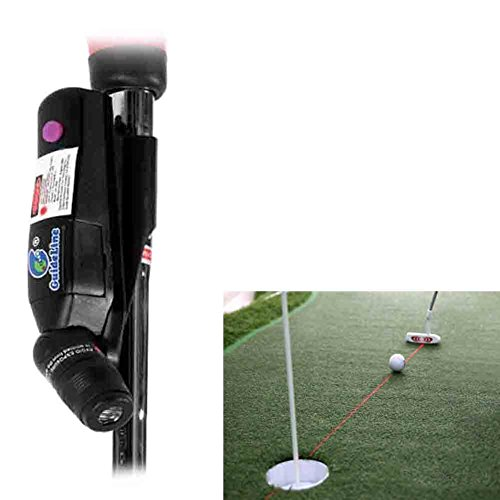 HMX Golf Putter Plane Laser Sight Practice Putting Aid–Fix Putt