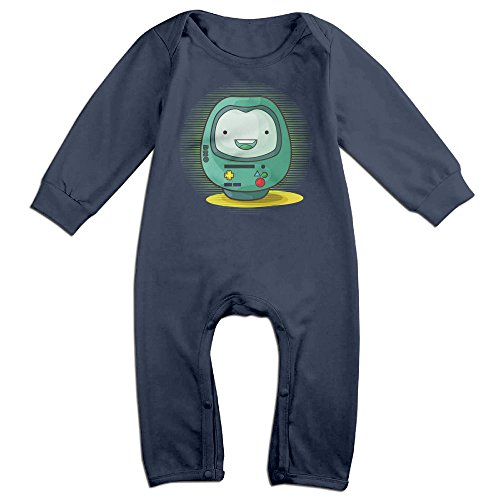 Bmo Costume For Kids (OLGB Babys BMO The Daruma Long Sleeve Jumpsuit Outfits 6 M)