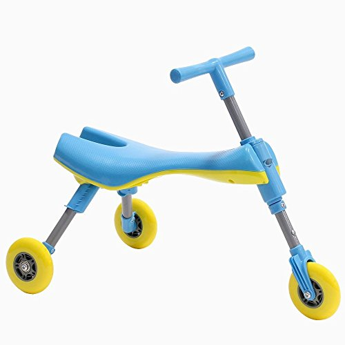 Fly Bike Foldable Toddler Ride On Toy (Blue)