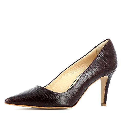 Evita Shoes Jessica - Zapatos de vestir de Piel para mujer burdeos