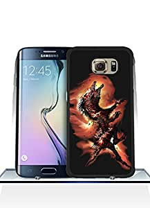 Galaxy S6 Edge Funda Case Game Bloodborne Solid Anti Slip Customized Impact Resistant Ultra Slim Compatible with Samsung Galaxy S6 Edge (Not for S6 / S6 Edge Plus)