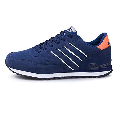 DOUSTY& Men's Sneakers Light Weight 2019 New Spring Summer Casual Men Shoe Breathable Network Shoes Man Slip on Flats Heren Schoenen Blue 2018 6.5