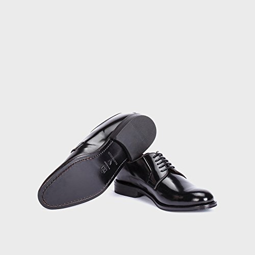 Martinelli Metropolitan 1115-0080AYM, blucher negro para hombre (45)
