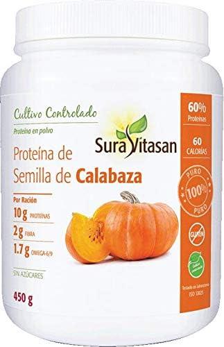 Vitasan Proteina Calabaza 450G Sura Vitasan 450 g: Amazon.es ...