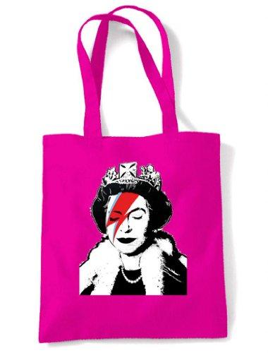 Tote Pink Bag Bitch Queen Shoulder Banksy Banksy Queen UzqI0I