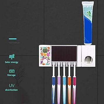 RENYAYA Solar De Carga del Cepillo De Dientes, USB Recargable De Cepillo De Dientes UV