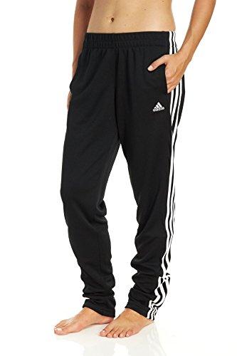 adidas Women's T10 Pants, Black/White, Small