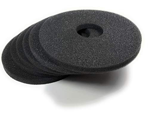 Margarita Salt Glass Bar Rimmer Replacement Sponges Set of 6, Black by SUMMIT Salt Rimmer Replacement Sponges (Image #2)