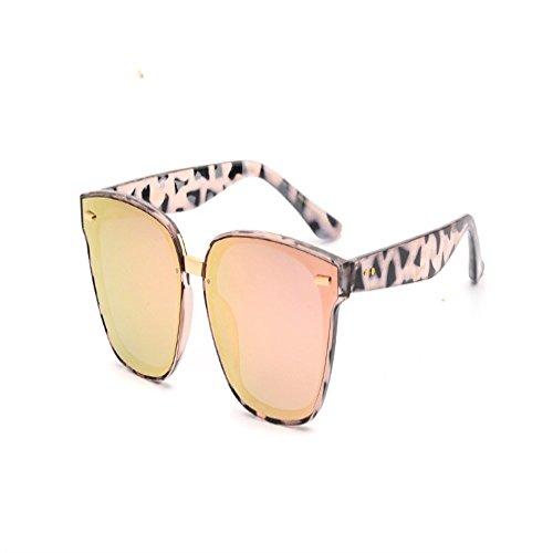 mujeres gafas sol 6 gafas Gafas de de sol de Rosado sol Gafas hombres de grande sol y Shop polarizadas para súper caja qaFRw0a