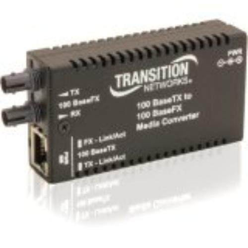 特価商品  Transition 1.2 to Stand-Alone Mini Fast Ethernet Media nm Converter - Fiber media converter - Fast Ethernet - 100Base-FX, 100Base-TX - RJ-45/ ST multi-mode - up to 1.2 miles - 1300 nm B00DG6XAOI, アーミノグチ:e52fa281 --- a0267596.xsph.ru