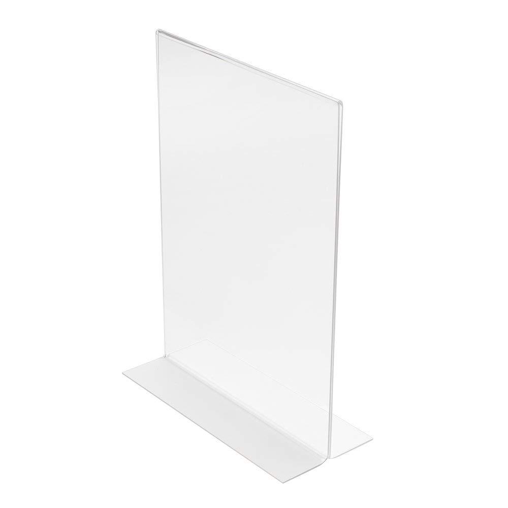 Deflecto 949444 spositore da tavolo in T Formato A3 verticale