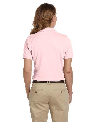 Ladies' Easy Blend Polo, Blush, XL