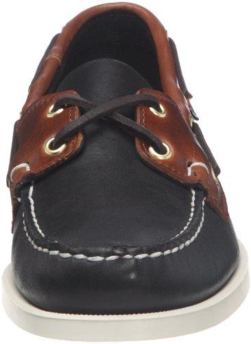 Homme Chaussures Noir Sebago Marron Spinnaker Bateau 6Tq0Ov