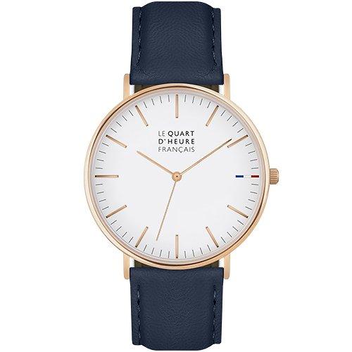 El cuarto de hora francés – Intemporelle – Reloj Mixta – Reloj Oro Rosa – Pulsera
