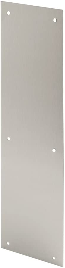 Prime-Line Products J 4626 Door Push Plate, 4-Inch x 16-Inch, Stainless