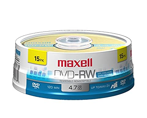 Maxell 635117 4.7Gb Dvd-RW Disc (Disk To Clean Computer)