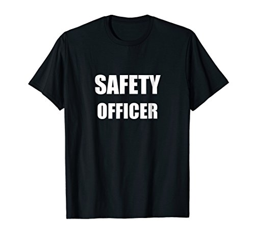 Safety Officer Employees Official Uniform Work T-Shirt