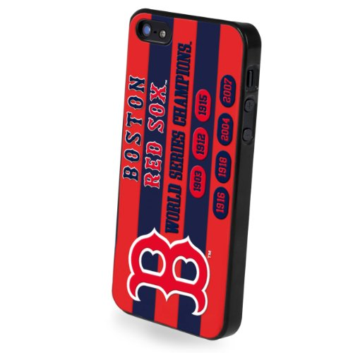Boston Red Sox Franchise - Forever Collectibles Boston Red Sox Commemorative Hard Snap-On Apple iPhone 5 & 5S Case