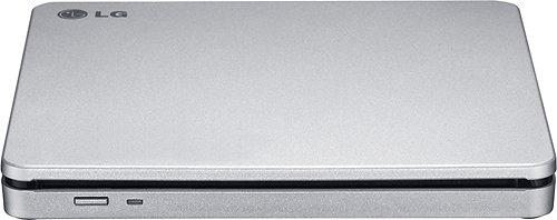 LG AP70NS50 DVD-Writer - Silver - DVD-RAM/â±R/â±RW Support - 24x CD Read/24x CD Write/24x CD Rewrite - 8X DVD Read/8x DVD Write/8x DVD Rewrite - Double-Layer Media Supported - USB 2.0 - Slimline by LG