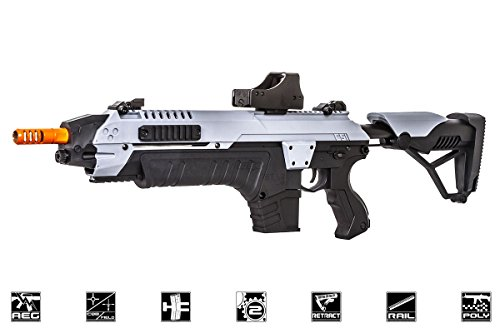 CSI S.T.A.R XR5 Advanced Main Battle Rifle M4 Carbine AEG Airsoft Gun ( Black/Gray)
