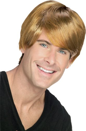 Rubie's Rocket Man Blond Pop Star Wig, Brown, One Size ()