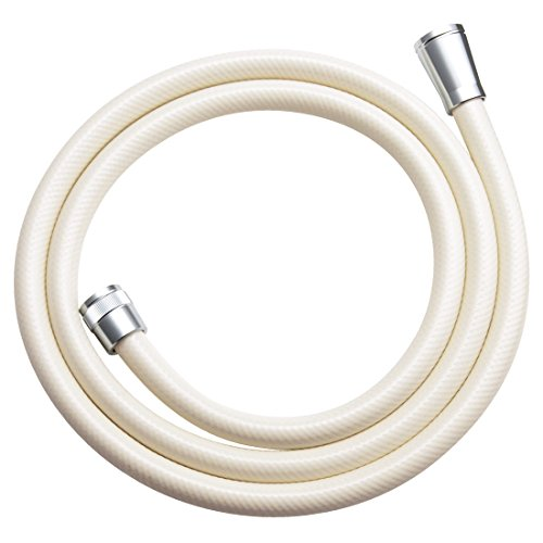 Kakudai large bore shower hose 1.6M 3672C cream (japan (Europa Bath Fixture)