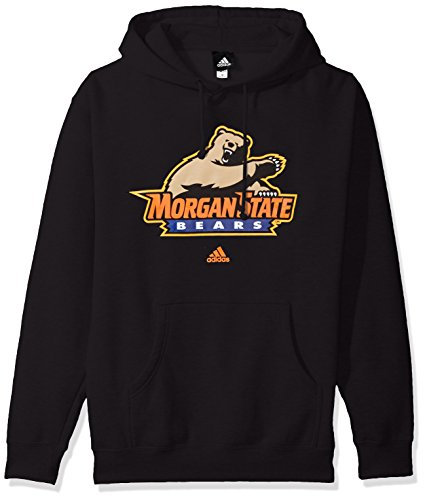 Adidas Morgan State Bears - adidas NCAA Morgan State Bears Adult men School Logo Fleece Hood,X-Large,Black