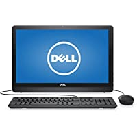2018 Dell Inspiron High Performance 21.5 FHD Anti-Glare LED-Backlit All-in-One (AIO) Desktop, AMD A6 up to 2.4GHz, 4GB DDR3L, 1TB HDD, 802.11ac, Bluetooth, Webcam, USB 3.0, HDMI, Windows 10, Black