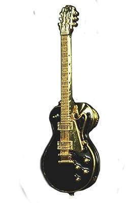 Les Paul Vintage Electric Guitar Pin - Black