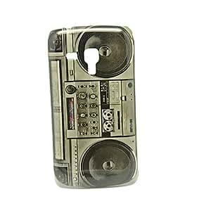 Retro Radio Pattern IMD Craft Hard Case for Samsung Galaxy Trend Duos S7562