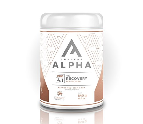 Supreme Alpha PRO Post Workout Recovery for Women BCAA s, Glutamine, L-Citruline, L-Tryptophan, Vitamin D, Calcium Increases Performance