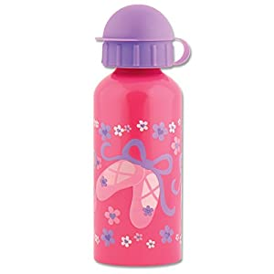 Stephen Joseph Stainless Steel Water Bottle, Ballet