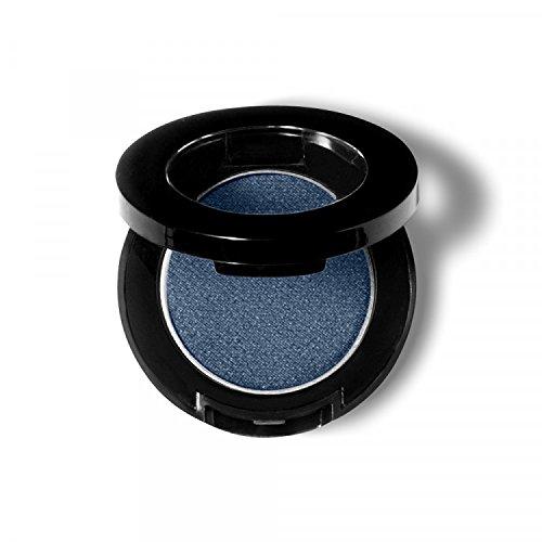 Pixie Cosmetics Pressed Powder Polychromatic Eye Shadow Shimmer Finish (Denim)