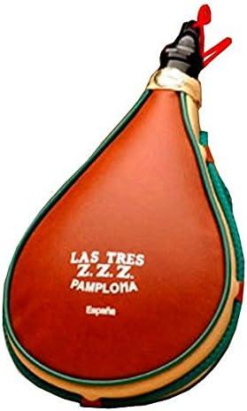 Las Tres Z.Z.Z. Bota de Vino ZetaFlex - 2 litros: Amazon.es: Hogar