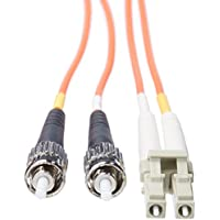 Tripp Lite Duplex Multimode 62.5/125 Fiber Patch Cable (LC/ST), 15M (50-ft.)(N318-15M)