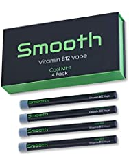 The inhalation science and research behind Smooth Vapes technology goes back a half century and is proven to effectively convert vitamin B12 into vapor. 10-20 puffs is equal to the amount of B12 found in a typical B12 shot. Save yourself mone...