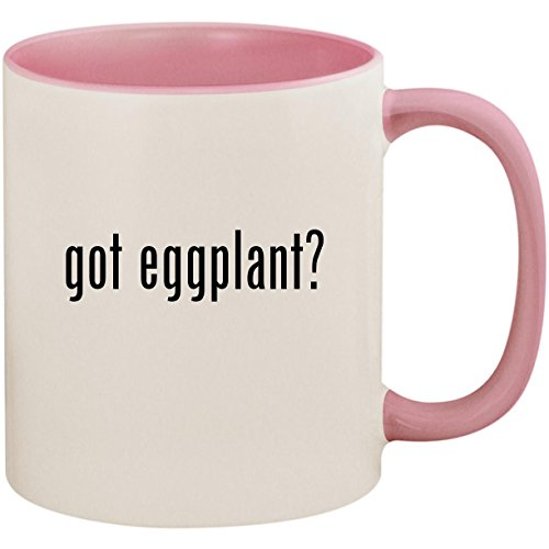 got eggplant? - 11oz Ceramic Colored Inside and Handle Coffe
